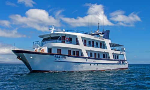 M/Y San Jose - 16 passenger Standard class motor yacht cruising the Galapagos islands