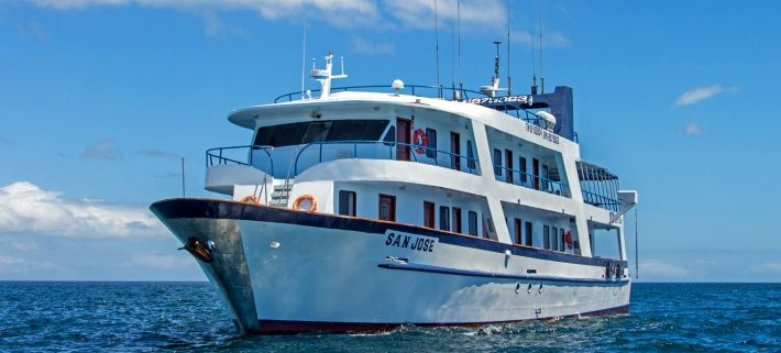 Motor yacht San Jose, Galapagos islands