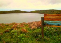 El Junco lagoon, San Cristobal island, Galapagos Islands